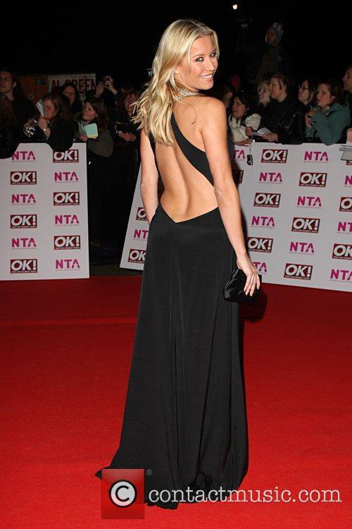 Denise Van Outen National Television Awards 2008 held...