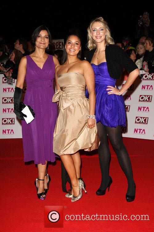 Guests National Television Awards 2008 held at the...