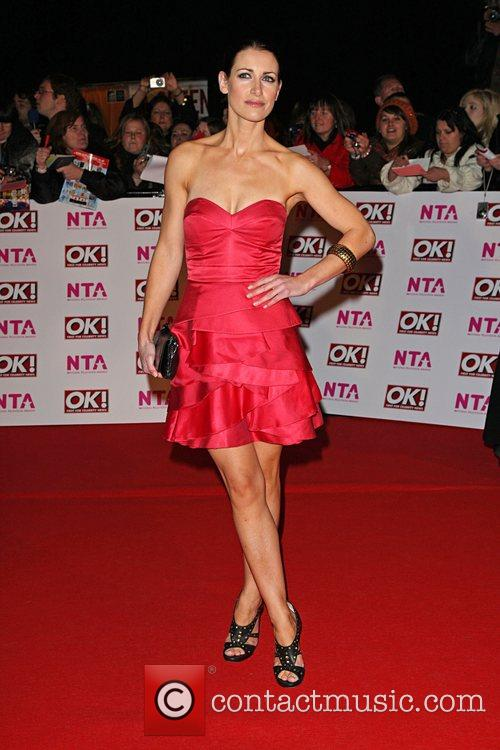 Kirsty Gallagher National Television Awards 2008 held at...