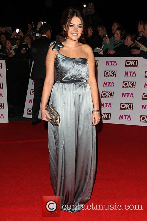 Lacey Turner National Television Awards 2008 held at...