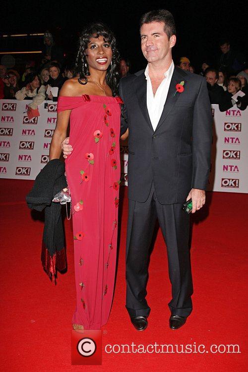 Sinitta and Simon Cowell National Television Awards 2008...