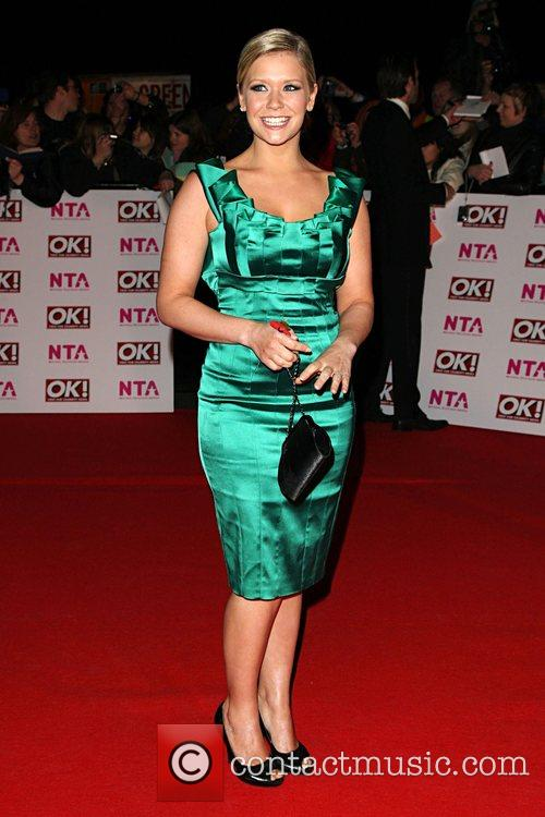 Suzanne Shaw, National Television Awards 2008 held at...