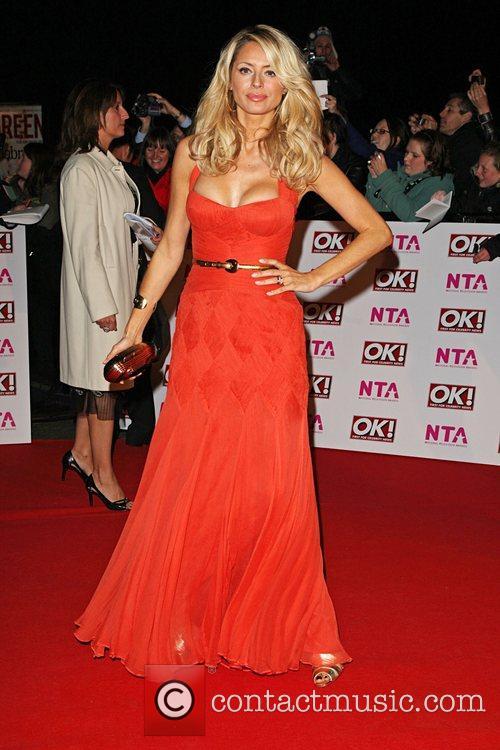Tess Daly National Television Awards 2008 held at...
