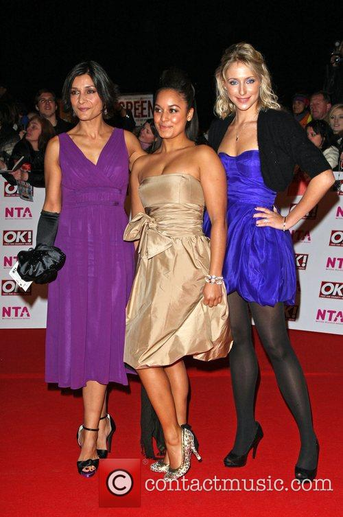 Ali Bastian, Rhea Bailey and Amita Dhiri