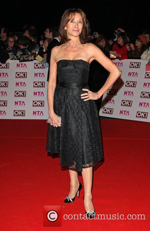 Cherie Lunghi National Television Awards 2008 held at...