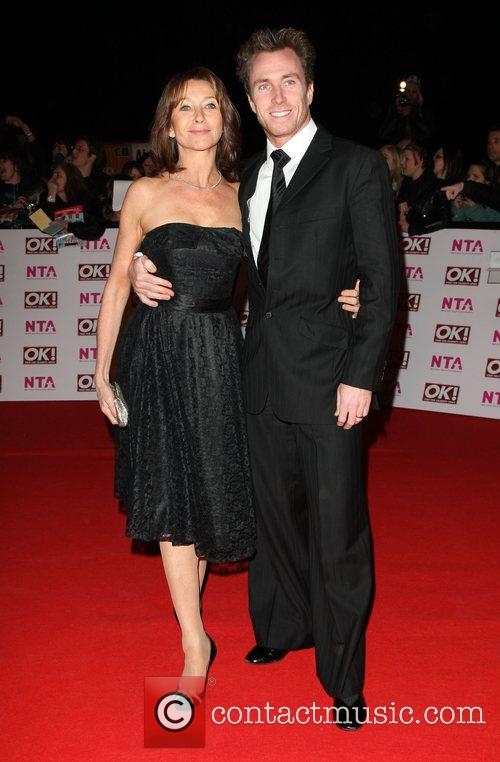 Cherie Lunghi and James Jordan National Television Awards...