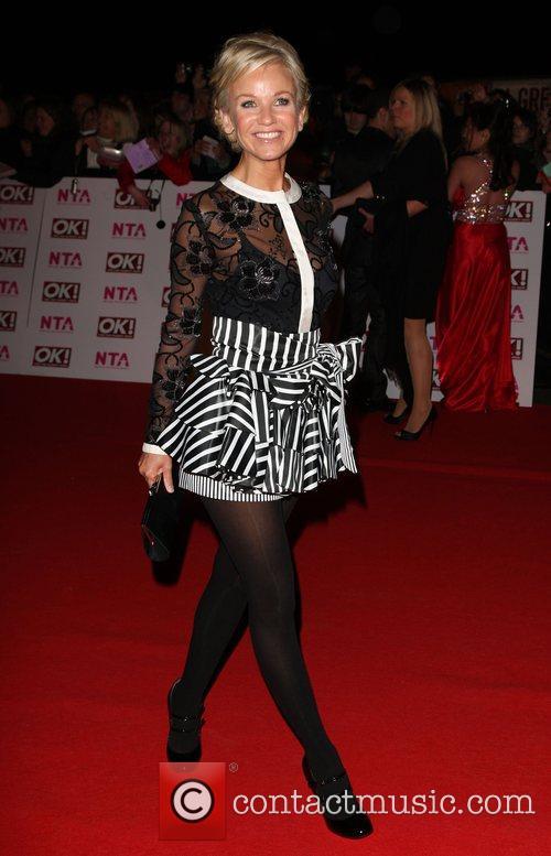 Lisa Maxwell National Television Awards 2008 held at...