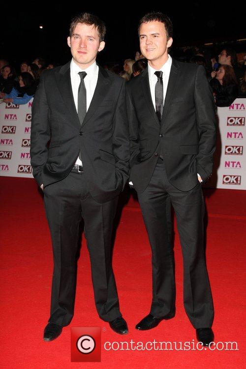 Matt Littler and Darren Jeffries National Television Awards...