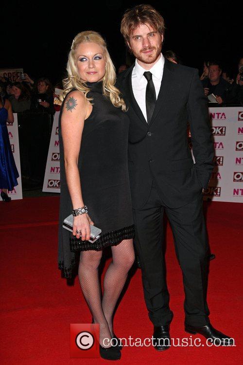 Rita Simons and Robert Kazinsky National Television Awards...