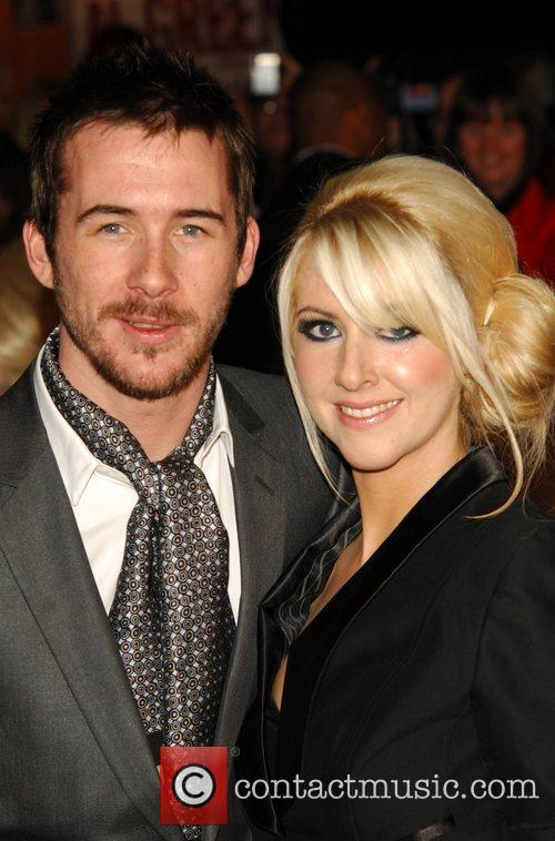 Barry Sloane and Guest National Television Awards 2008...