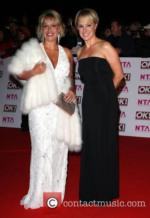 Katy Cavanagh and Sally Whittaker National Television Awards...