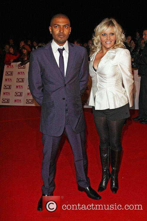 Noel Clarke and Camille Coduri National Television Awards...
