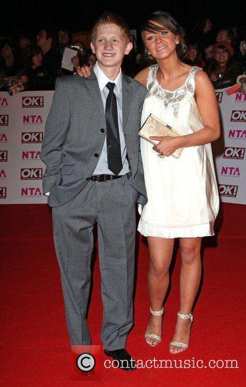 Sam Aston and Brooke Vincent  National Television...