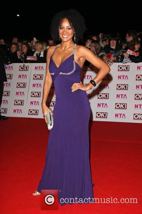 Tupele Gropes National Television Awards 2008 held at...