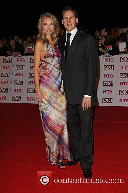 Brendan Cole and Girlfriend National Television Awards 2008...
