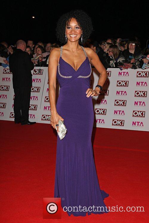 Gemma Merna National Television Awards 2008 held at...