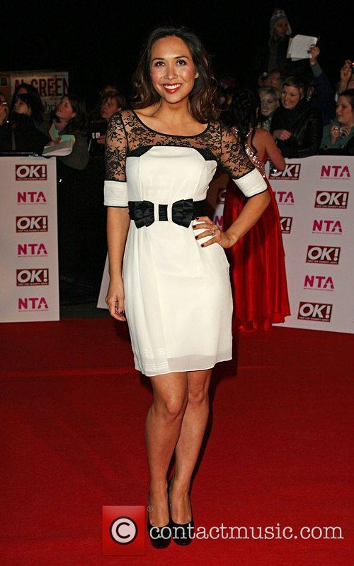 Myleene Klass National Television Awards 2008 held at...