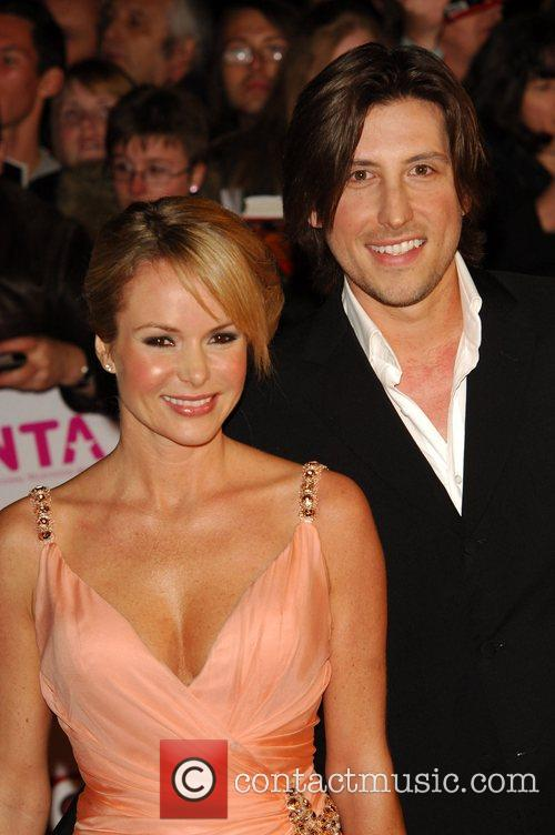 Amanda Holden and Guest National Television Awards 2008...