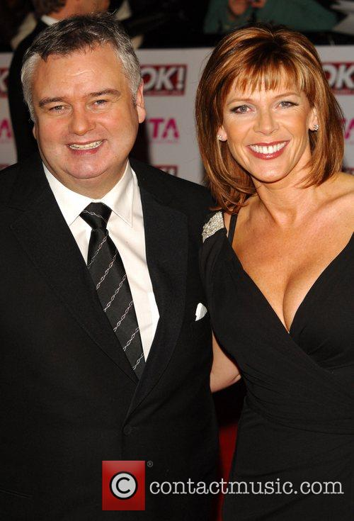 Eamon Holmes and Guest National Television Awards 2008...