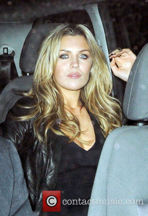 Abigail Clancy National Television Awards 2008 - Afterparty...