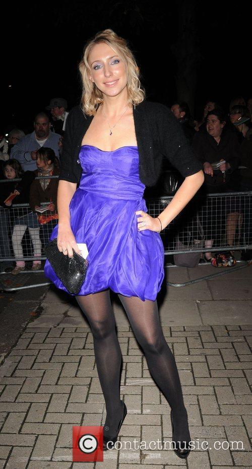 Ali Bastian National Television Awards 2008 - Afterparty...