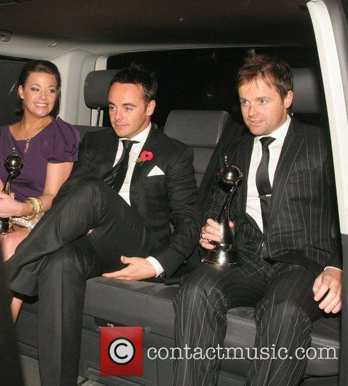 Lisa Armstrong, Ant McPartlin and Declan Donnelly National...