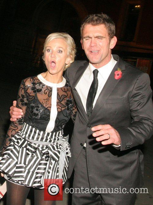 Lisa Maxwell and Scott Maslen National Television Awards...