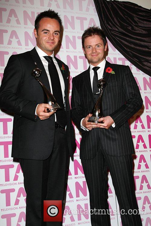 Anthony McPartlin and Declan Donnelly Winners of 'Most...