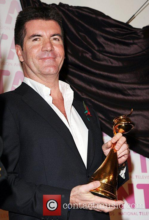 Simon Cowell, Outstanding Achievement winner The National TV...