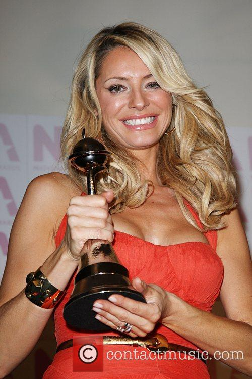 Tess Daly, winner of best reality show, Strictly...