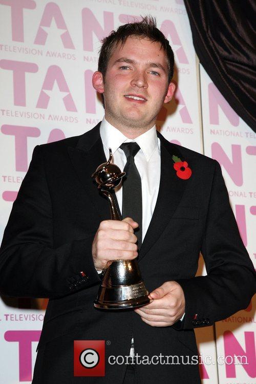 Matt Littler, winner of the 'Outstanding Serial Drama...