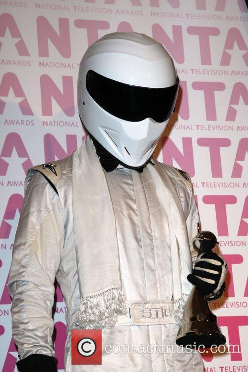 The Stig from 'Top Gear', winner of 'Most...