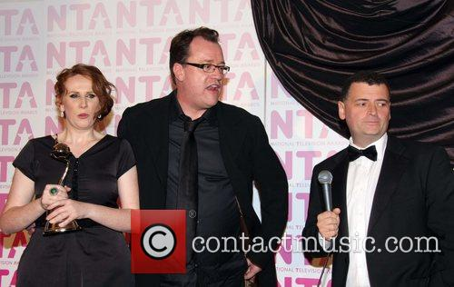 Catherine Tate, Russel Davies and Steven Moffat 5