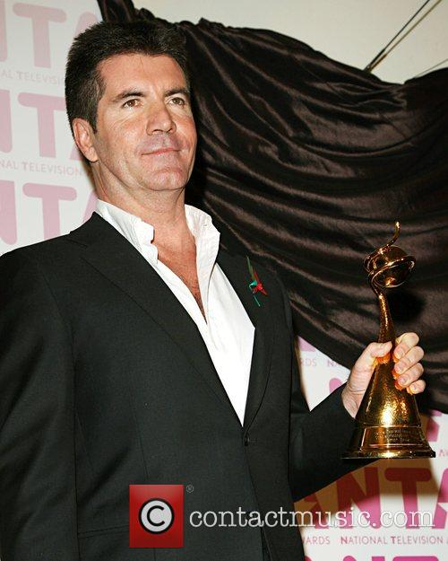 Simon Cowell The National Television awards 2008 held...