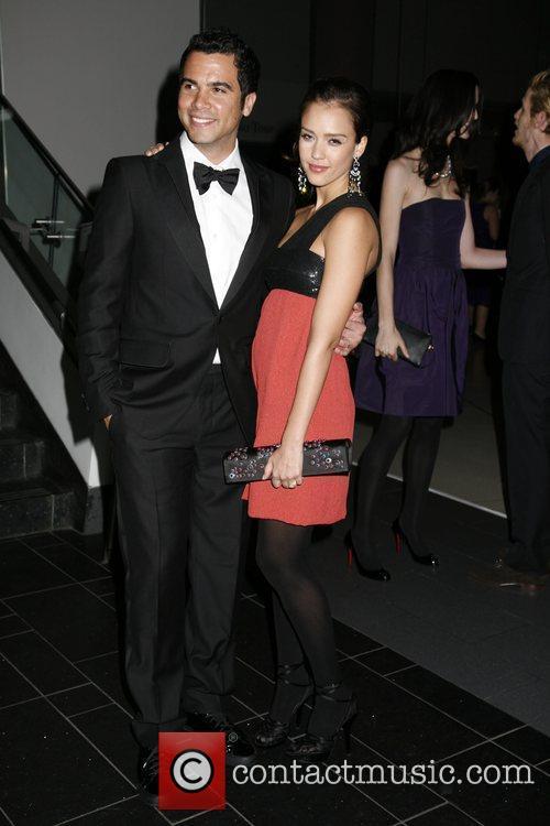 Cash Warren and Jessica Alba 1