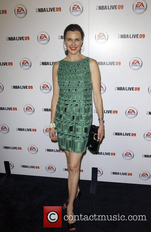 Brenda Strong Launch party for EA Sports video...