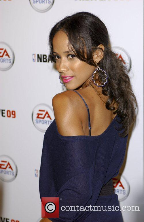 Dania Ramirez Launch party for EA Sports video...