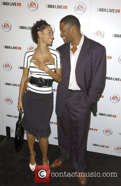 Nicole Murphy and Michael Strahan Launch party for...