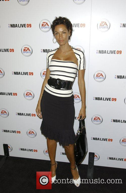 Launch party for EA Sports video game NBA...