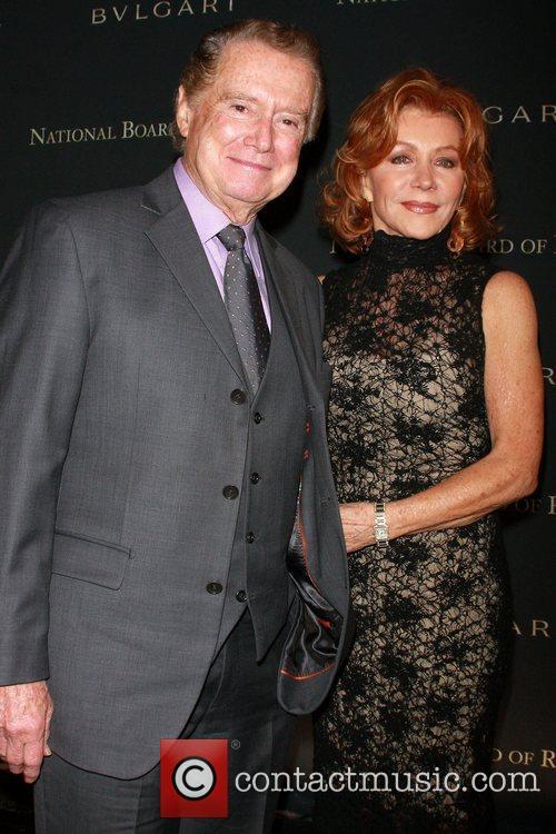 Regis Philbin and Joy Philbin 2008 National Board...