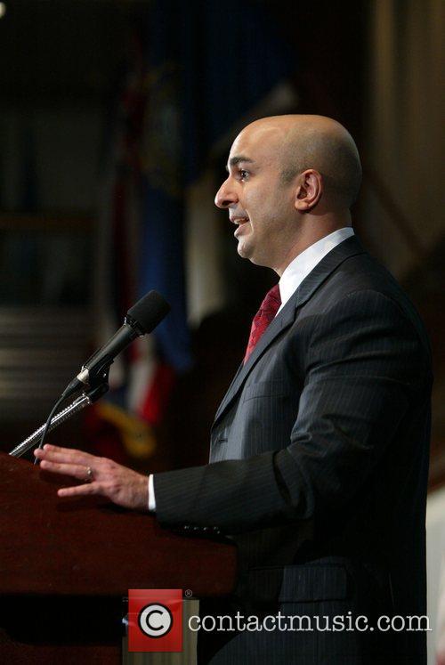Neel Kashkari delivers remarks at the Department of...