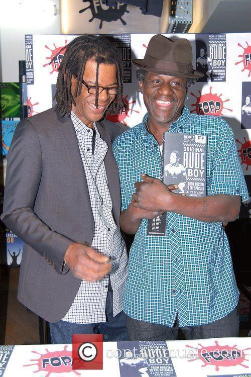 Neville Staple  signed copies of his new...
