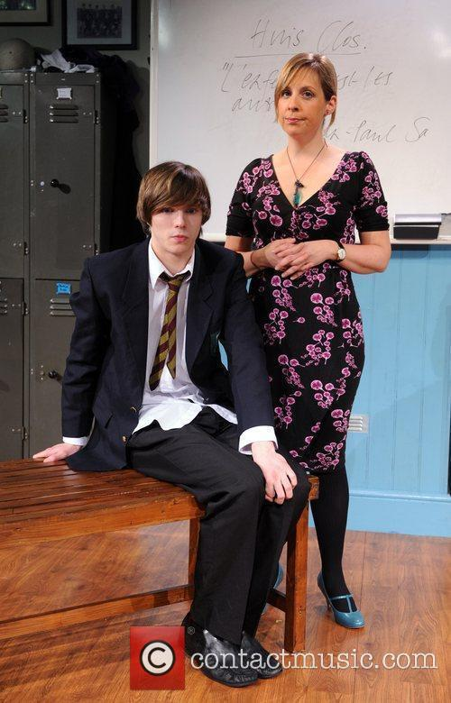 Nicholas Hoult and Mel Giedroyc 9