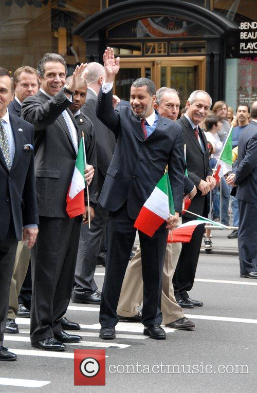 Andrew Cuomo, Governor Of New York, David Paterson, Mayor Of New York City and Michael Bloomberg 2