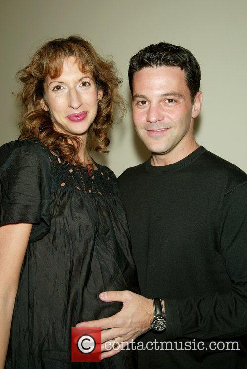 Alysia Reiner and Husband David Alan Basche 3