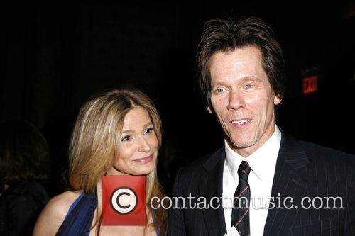 Kyra Sedgwick and Kevin Bacon New York Stage...