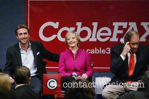 Philippe Cousteau, Florence Henderson, Chris Berman 2008 CableFax...