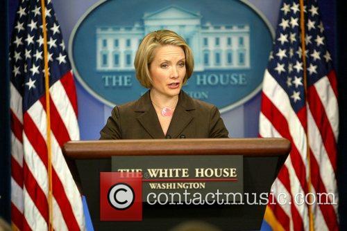 White House Press Secretary Dana Perino gave the...