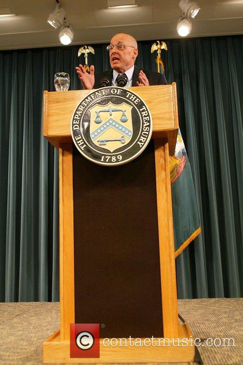United States Treasury Secretary Henry Paulson, Jr. at...