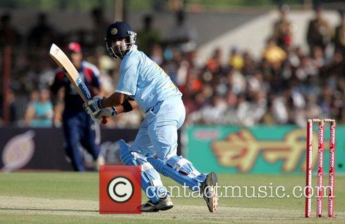 Gautam Gambhir India versus England Cricket Series 2008-09...